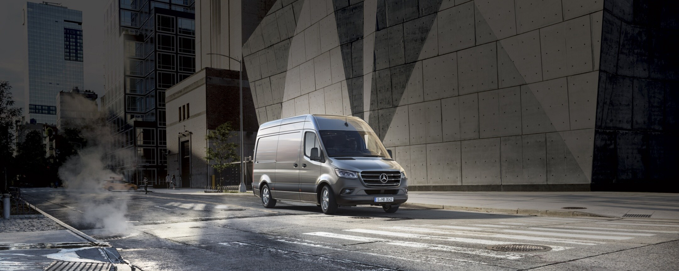 Lo Sprinter Mercedes-Benz in leasing. Offerta di leasing.
