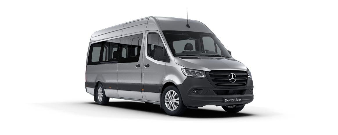 Sprinter Tourer, argento iridium metallizzato