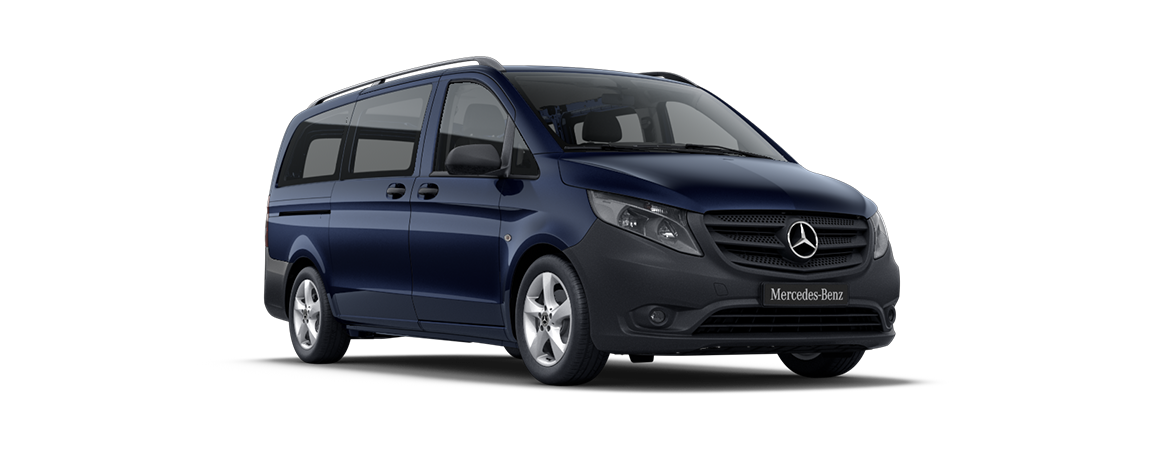 Vito Tourer, blu cavansite metallizzato